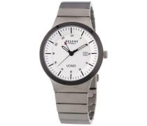 Regent Herren-Armbanduhr XL Analog Quarz Titan 11090297