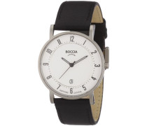 Boccia Herren-Armbanduhr Mit Lederarmband Trend 3533-03