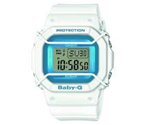 Baby-G – Damen-Armbanduhr mit Digital-Display und Resin-Armband – BGD-501FS-7ER