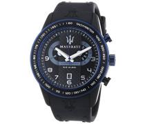 Maserati Herren-Armbanduhr XL Chronograph Quarz Silikon R8871610002