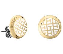 Jewelry Damen-Ohrstecker Classic Signature Edelstahl Emaille - 2700806