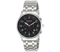 Swiss Military Herren-Armbanduhr Chronograph Quarz Edelstahl 6-5187.04.007