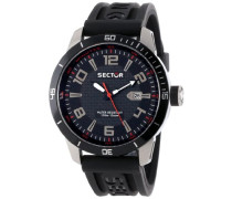 Sector Herren-Armbanduhr XL 850 Analog Quarz R3251575002