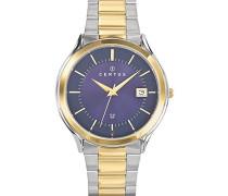 –616414–Zeigt Herren-Armbanduhr 10510262Analog Stahl zweifarbig
