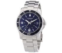 Swiss Army Damen-Armbanduhr XS Maverick Analog Quarz Edelstahl 241609