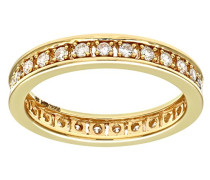 Damen-Ring 18 K Gelbgold P1 Diamant