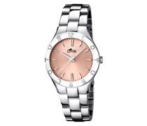 Lotus Damen-Armbanduhr XS Analog Quarz Edelstahl 15895/2