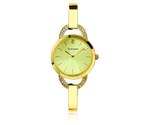 Damen-Armbanduhr Tendance Analog Quarz Edelstahl 036M542