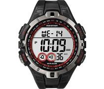 Herren-Armbanduhr XL Lap Timer Sportchronographen Digital Kautschuk T5K4234E