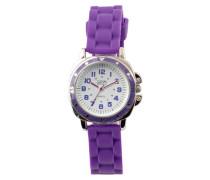 Unisex-Armbanduhr Analog Silikon violett 2848L-PL