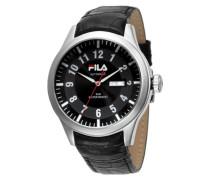 Herren-Armbanduhr Analog Quarz Leder FA0796-02