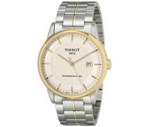 Herren-Armbanduhr XL Analog Automatik Edelstahl T086.407.22.261.00