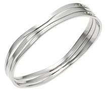 Damen-Armband D11104Z Edelstahl Zirkonia