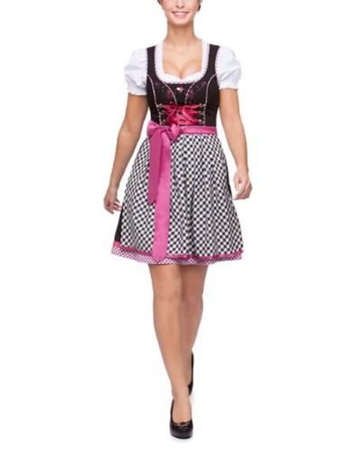 stockerpoint damen stockerpoint damen dirndl kleid gipsy mini einfarbig gr 34 rosa beere. Black Bedroom Furniture Sets. Home Design Ideas