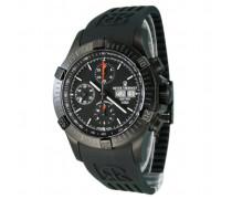 Herren-Armbanduhr XL Chronograph Automatik Kautschuk 16071.6877