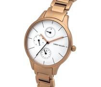 Karen Millen Damen-Armbanduhr Analog Quarz KM144RGM