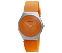 Damen-Armbanduhr Uhr mit Gummiarmband Analog Quarz Kautschuk 701316902