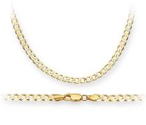 Damen-Halskette 9 Karat (375) Gelbgold TGZ 080 20
