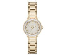 Damen-Armbanduhr Analog Quarz Edelstahl NY2392