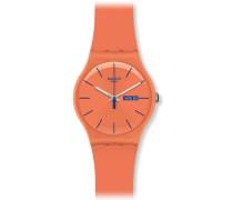 Swatch Unisex-Armbanduhr Analog Plastik SUOO701