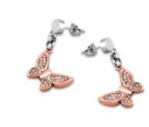 Style Jewelry Damen-Ohrstecker Edelstahl LS1529-4/3