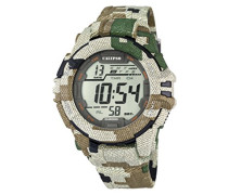 Herren-Armbanduhr Digital Quarz Plastik K5681/3