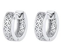Premium Damen-Ohrhänger Ornament 925 Silber rhodiniert - 0302120117