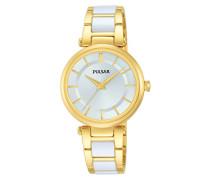 Damen-Armbanduhr Analog Quarz Edelstahl beschichtet PH8194X1