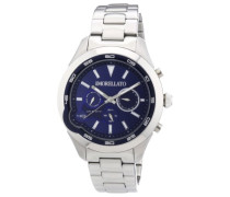 Herren-Armbanduhr XL ROMEO Analog Quarz Edelstahl R0153110002
