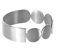 Damen Armreifen Versilbert - BANGLE #1 SILVER