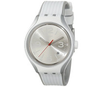Swatch Unisex-Armbanduhr GO DANCE Analog Quarz Silikon YES4005