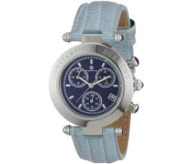 Damen-Armbanduhr Visage CD-VISL-QZ-LT-STST-BL