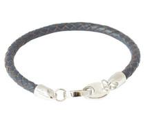 Link Armband Leder 21,5cm