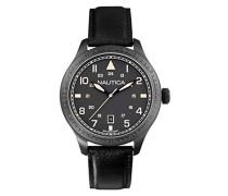 Nautica Herren-Armbanduhr XL Analog Quarz verschiedene Materialien A11107G