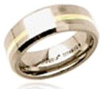 Damen-Ring Titan gold
