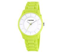 Damen-Armbanduhr Analog Quarz Plastik K5671/5