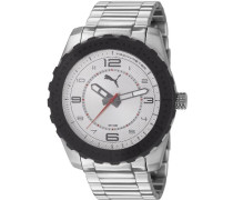 Puma Herren-Armbanduhr Man Watch Cross Analog Quarz PU103091001