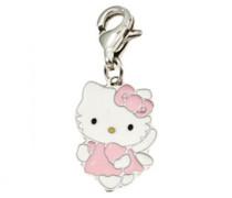 Hello Kitty Mädchen-Charm Collection K91057P Mädchen-Charm-Engel, Pink