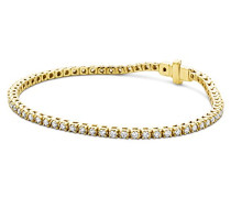 Damen-Tennisarmband 9 Karat (375) Gelbgold 2,0ct UJ139BY