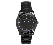 Damen-Armbanduhr Analog Quarz Edelstahl beschichtet DHD 004/3AM