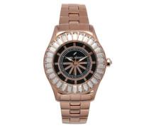 Damen-Armbanduhr Analog Quarz Edelstahl DHD 006S-2AM