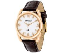 Damen-Armbanduhr Analog Quarz Leder OR53172211