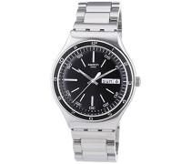 Herren-Armbanduhr Analog Edelstahl YGS749G