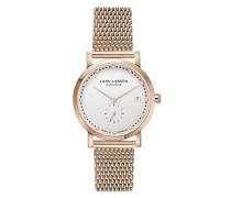 Damen-Armbanduhr Emma Analog Quarz Edelstahl beschichtet 137RWRM