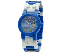 LEGO City Kinder-Armbanduhr Analog Quarz Mehrfarbig 8020028