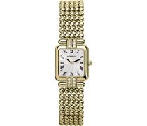 Perles Women'Damen Armbanduhr Analog Edelstahl Gold vergoldet Armband 174 xbp08 73/12 (DE)