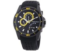 Bruno Banani Herren-Armbanduhr XL Shiva Analog Quarz Kautschuk BR22008
