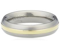 Damen-Ring Titan teilvergoldet