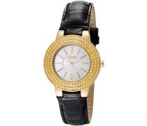 Damen-Armbanduhr XS Nova Analog Quarz Leder JP100992F06