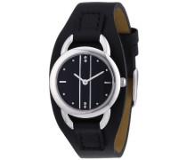 Damen-Armbanduhr XS Analog Quarz Leder 12111004